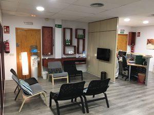 sala de espera de Láser Alcalá